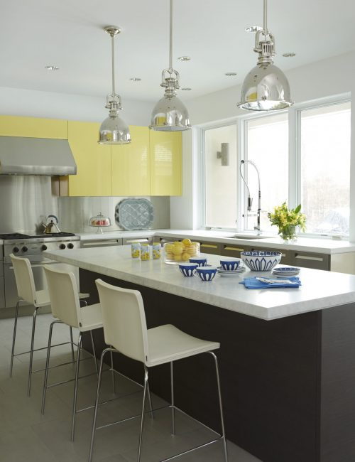 2 Yellow LVII Kitchen